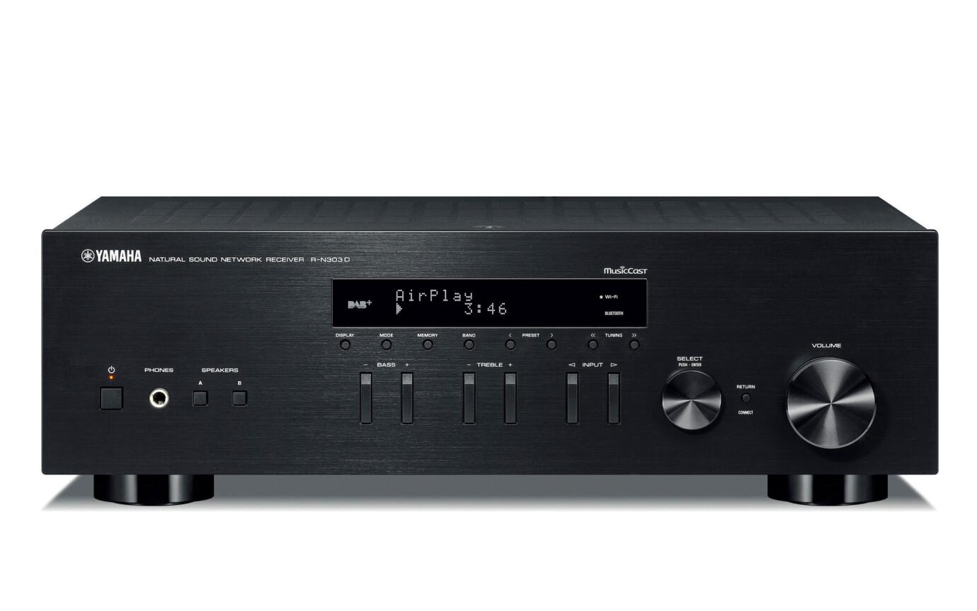 Yamaha R-N303D Schwarz