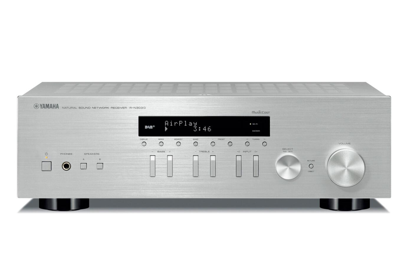 Yamaha R-N303D Silber