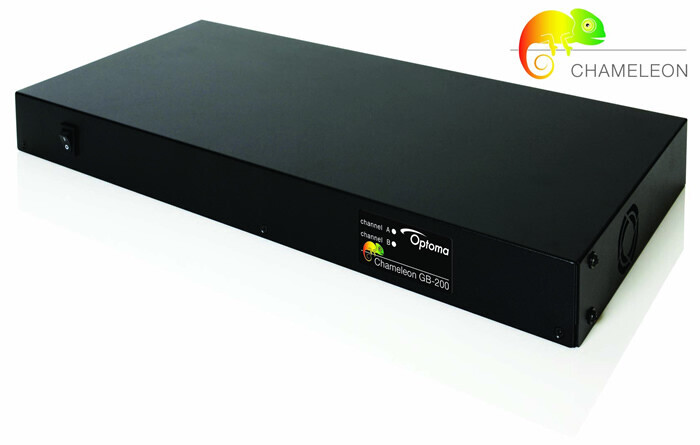 Optoma Chameleon GB-200 Image blending und Warping Prozessor