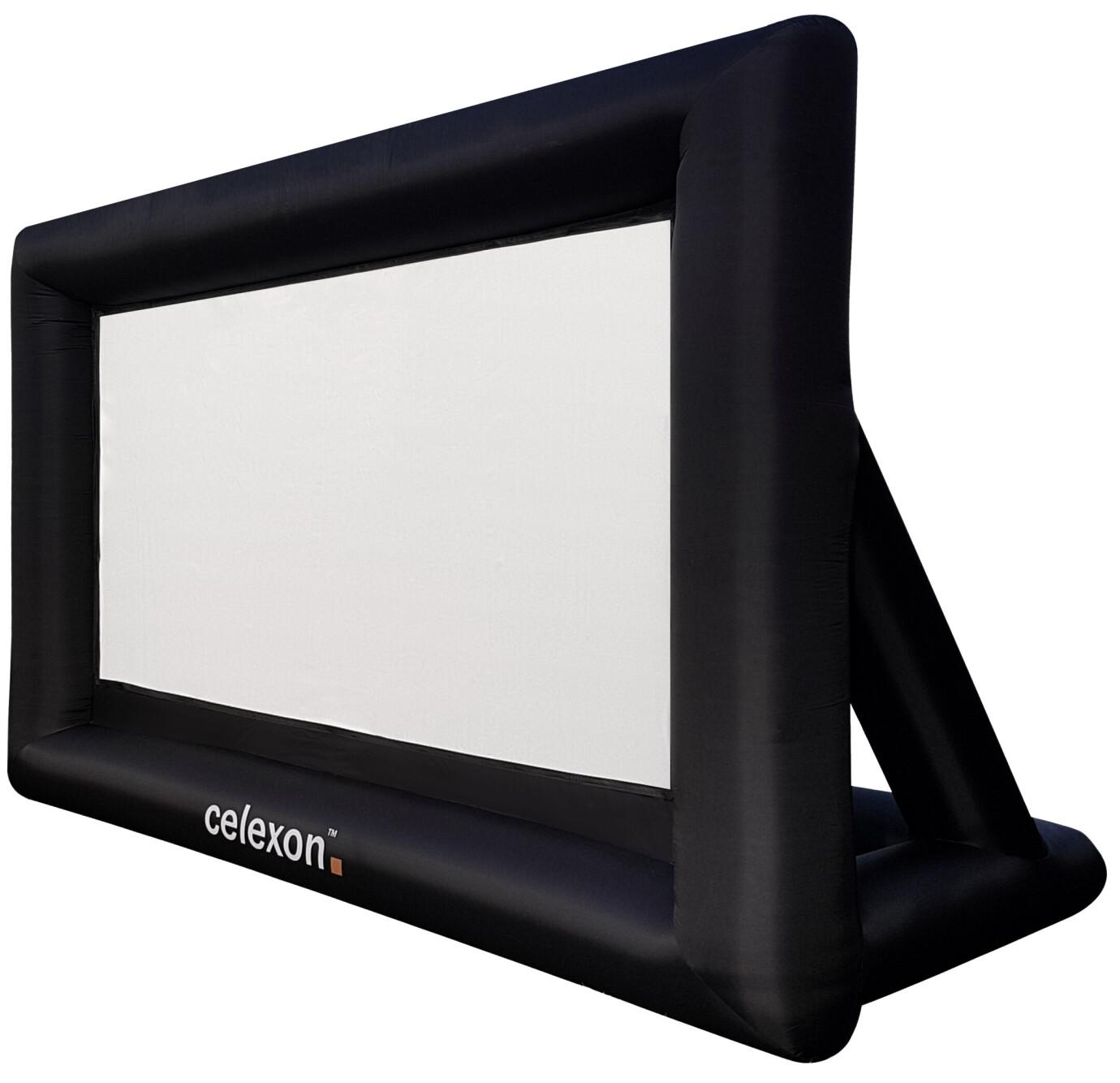 celexon inflatable outdoor screen INF200
