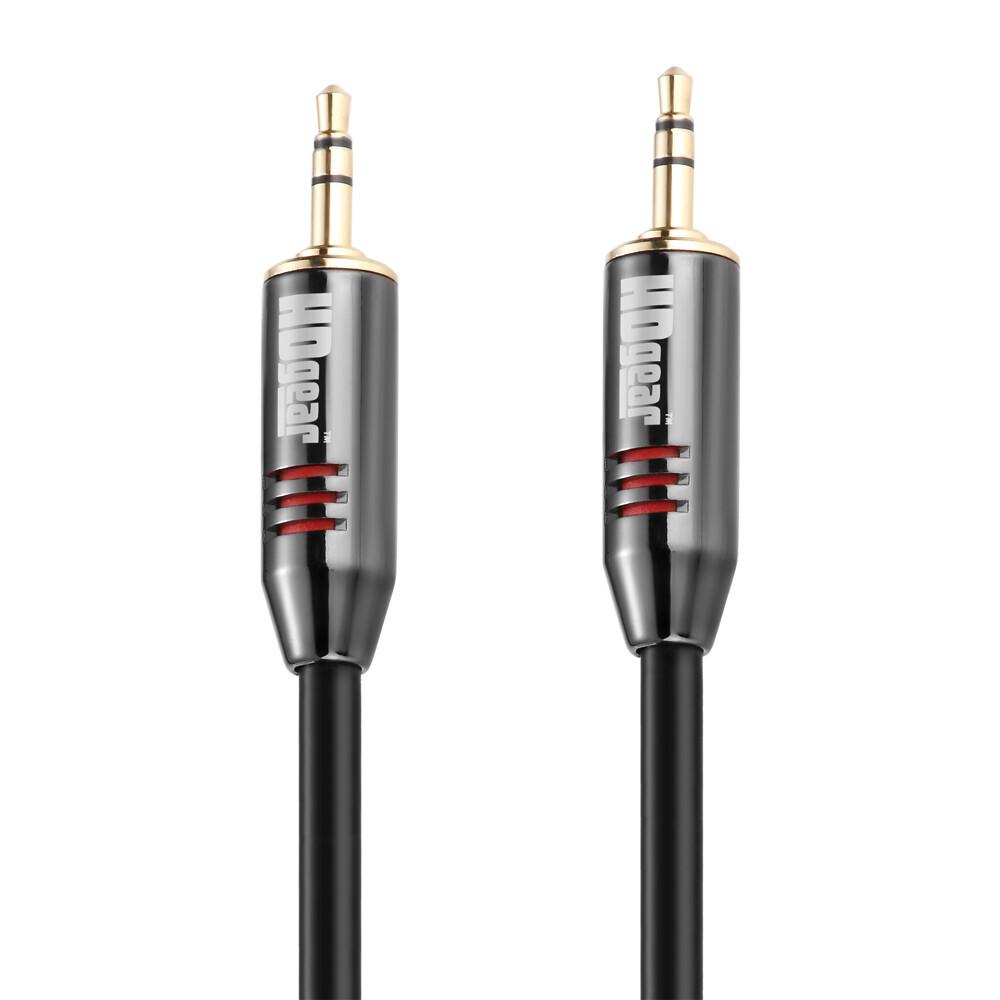 HDGear Polybag - Klinken Kabel 3,5mm Stereo - 0,50m