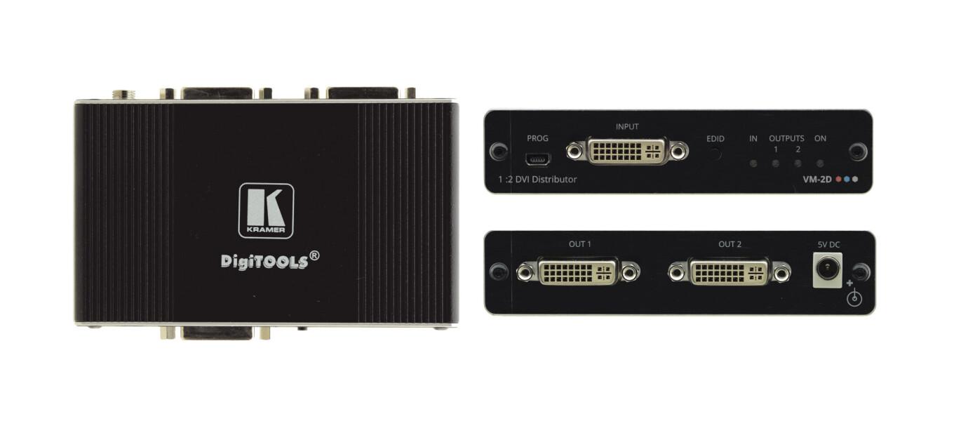 Kramer VM-2D 1:2 4K60 4:2:0 DVI–Verteilverstärker
