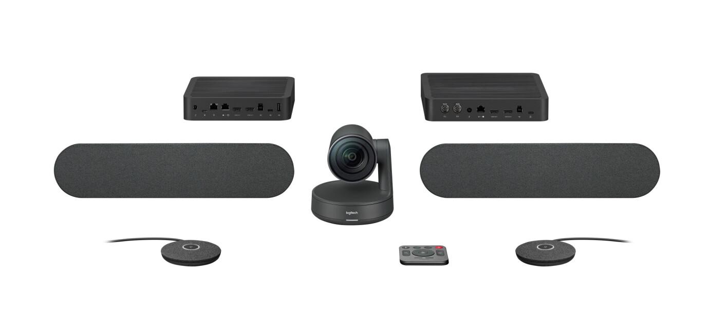 Logitech Rally Plus Kit voor videoconferenties