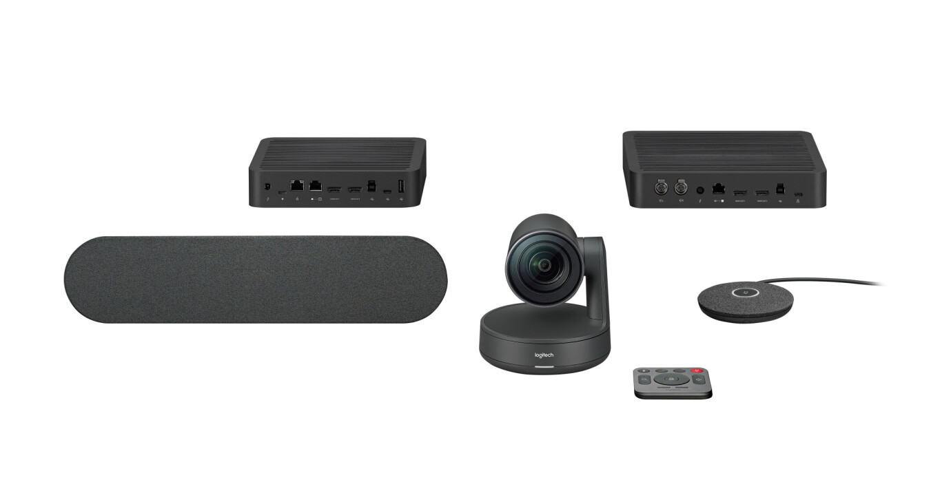 Logitech Rally Sistema de videoconferencia 4K