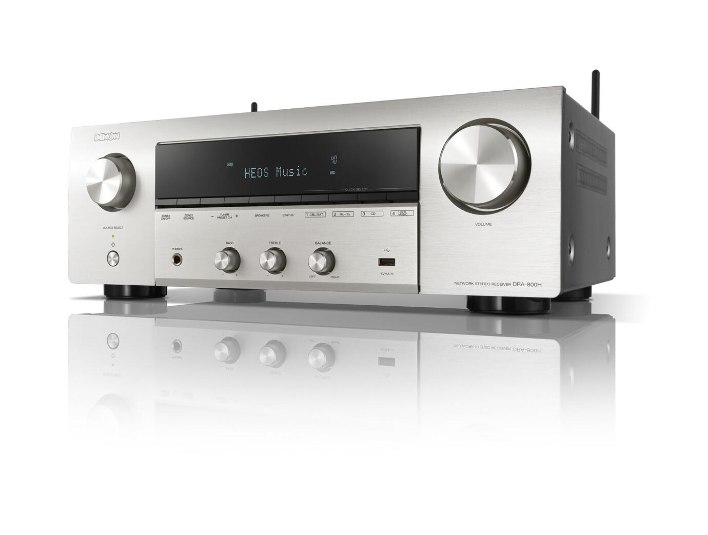 Denon DRA-800H Stereo-Netzwerk-Receiver, silber