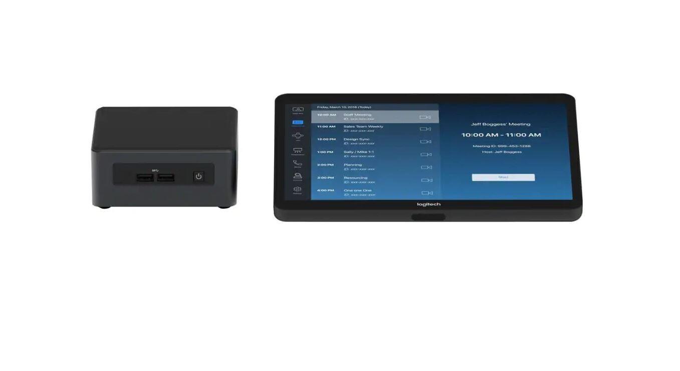 Logitech Tap Raumlösung für Zoom Rooms - Base Bundle