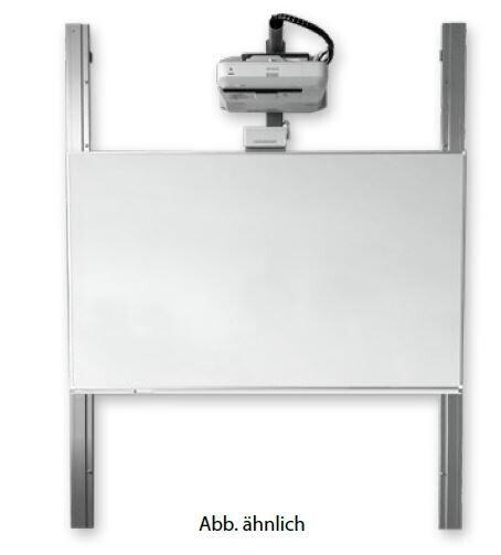 KROmedia Whiteboard-Lösung mit interaktivem Beamer und Tafelflügeln