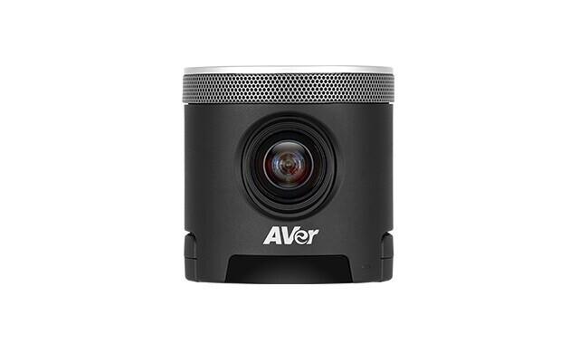 AVer CAM340+ Camera de conférence - 4k, 30fps, 120° FOV, 4x Zoom