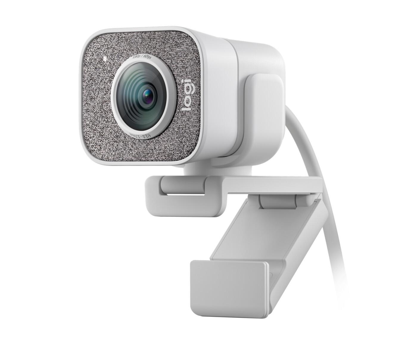 Logitech StreamCam Full HD, 60fps, 78° FOV, Autofokus, Auto-Framing, weiss