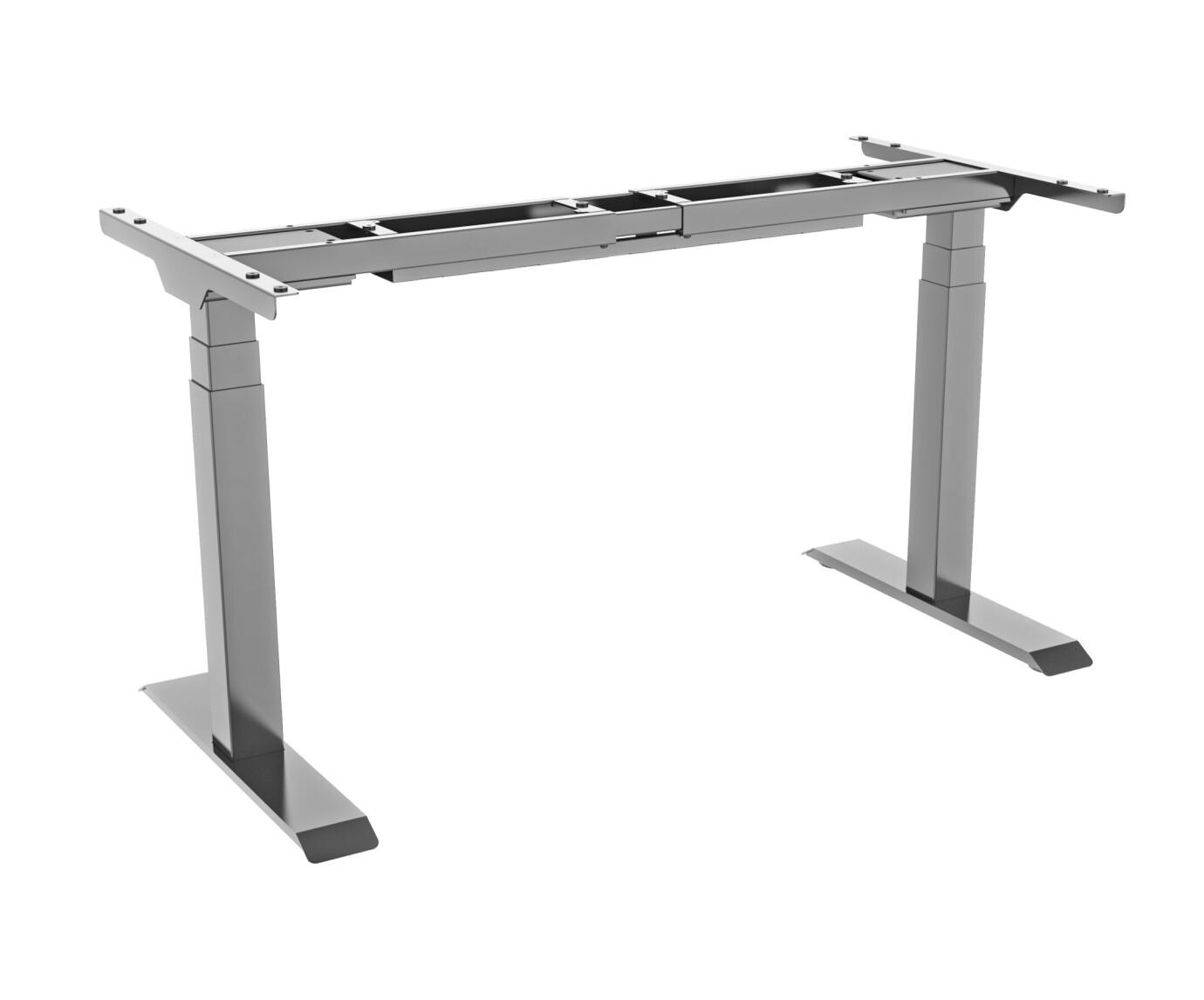 Cadre de bureau celexon PRO eAdjust-58123 réglable en hauteur électriquement - 58 - 123 cm, gris