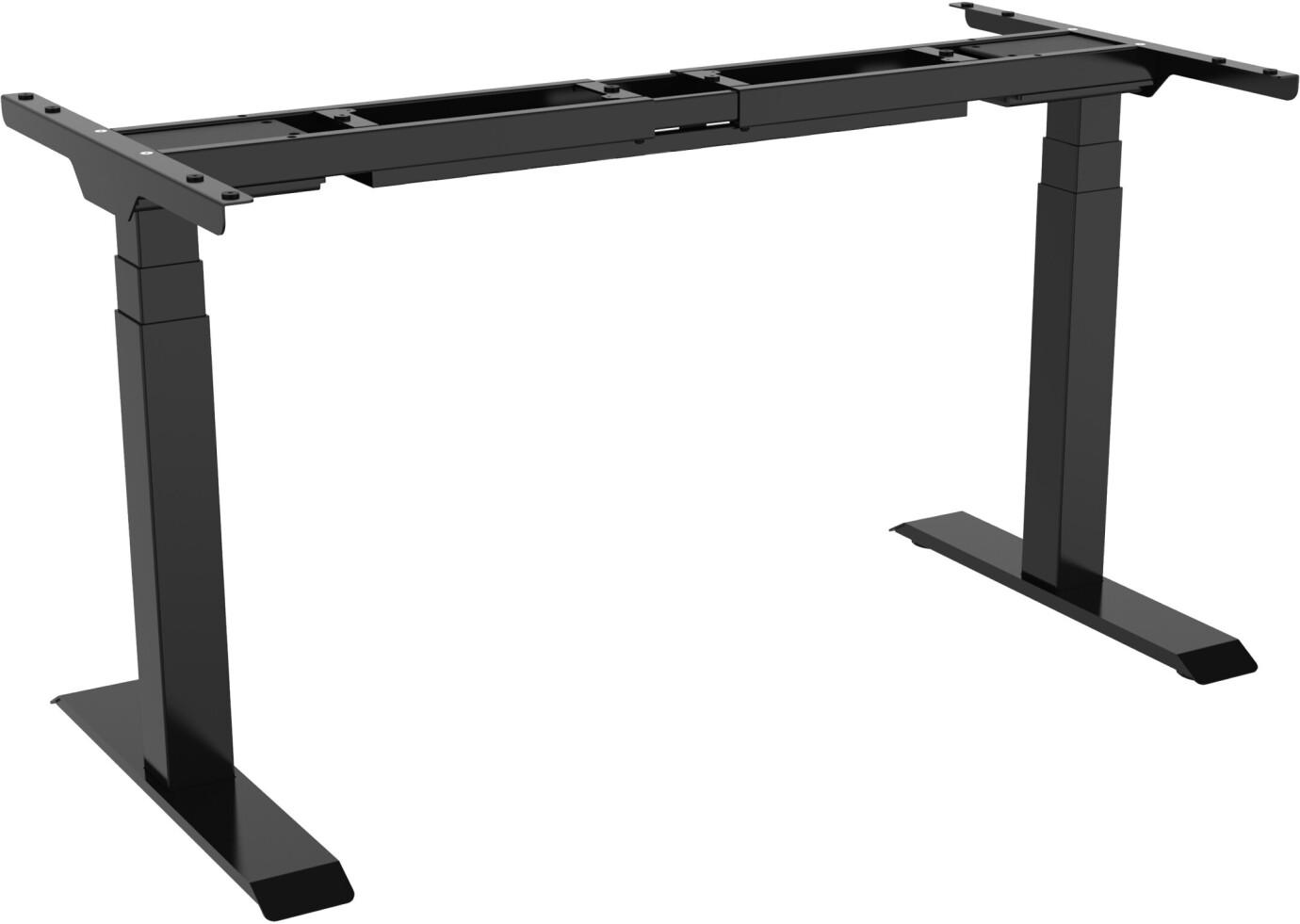 Cadre de bureau celexon PRO eAdjust-58123 réglable en hauteur électriquement - 58 - 123 cm, noir