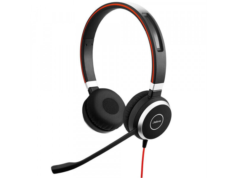 Jabra Evolve 40 MS Duo : certifié pour Skype pour les casques stéréo d'entreprise