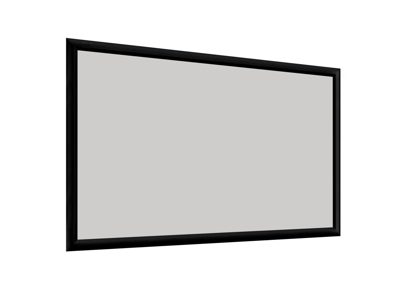 DELUXX Cinema Hochkontrast-Rahmenleinwand 300 x 169 cm, 135