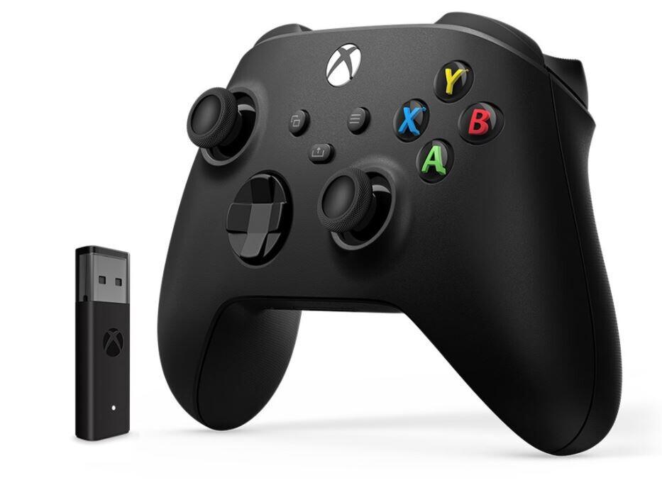 Microsoft Xbox Wireless Controller und Drahtlosadapter für Windows 10