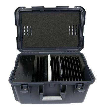 Leba NoteCase16 für Aufbewahrung, Transport und zum Laden von bis zu 16 Tablets, iPads