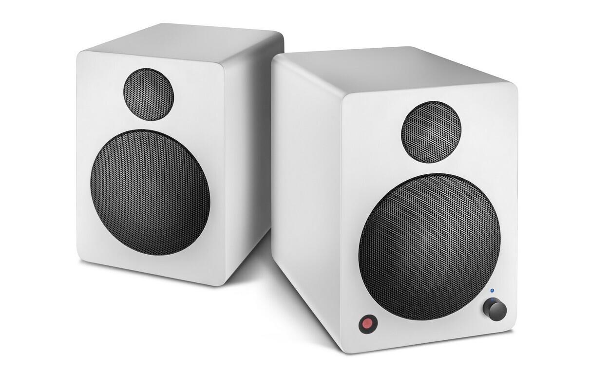 wavemaster Cube Mini Neo 2.0 Regallautsprecher System, weiss
