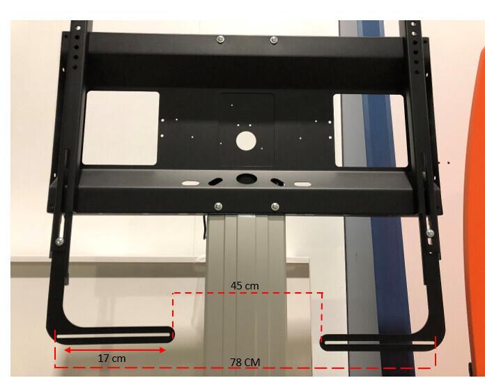 celexon soporte de barra de sonido para soportes de pantalla de las series Professional Plus y Expert