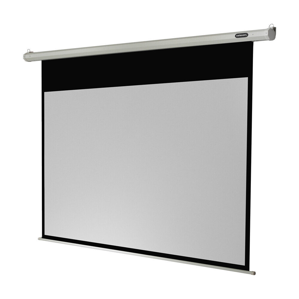 Ecran de projection celexon Economy Motorisé 160 x 90 cm