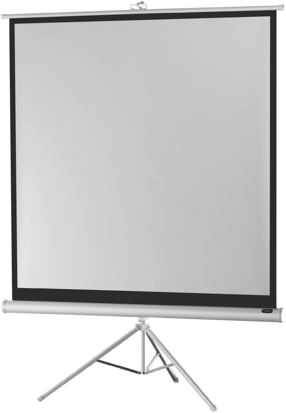 celexon Stativleinwand Economy 184 x 184 cm - White Edition