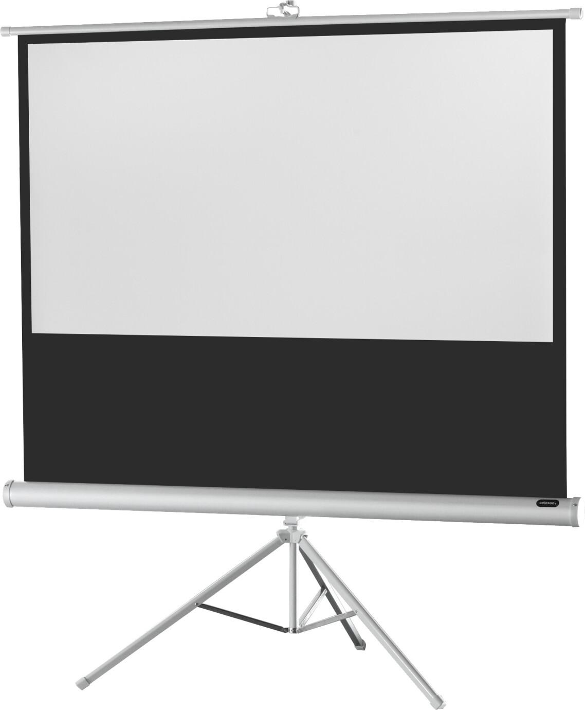 celexon Stativleinwand Economy 244 x 138 cm - White Edition