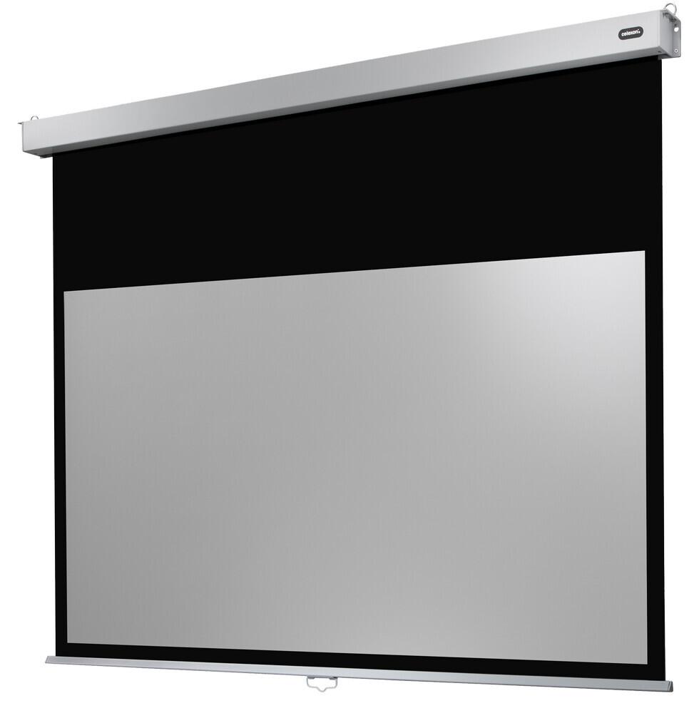 celexon manuell projektorduk Professional Plus 280 x 175 cm