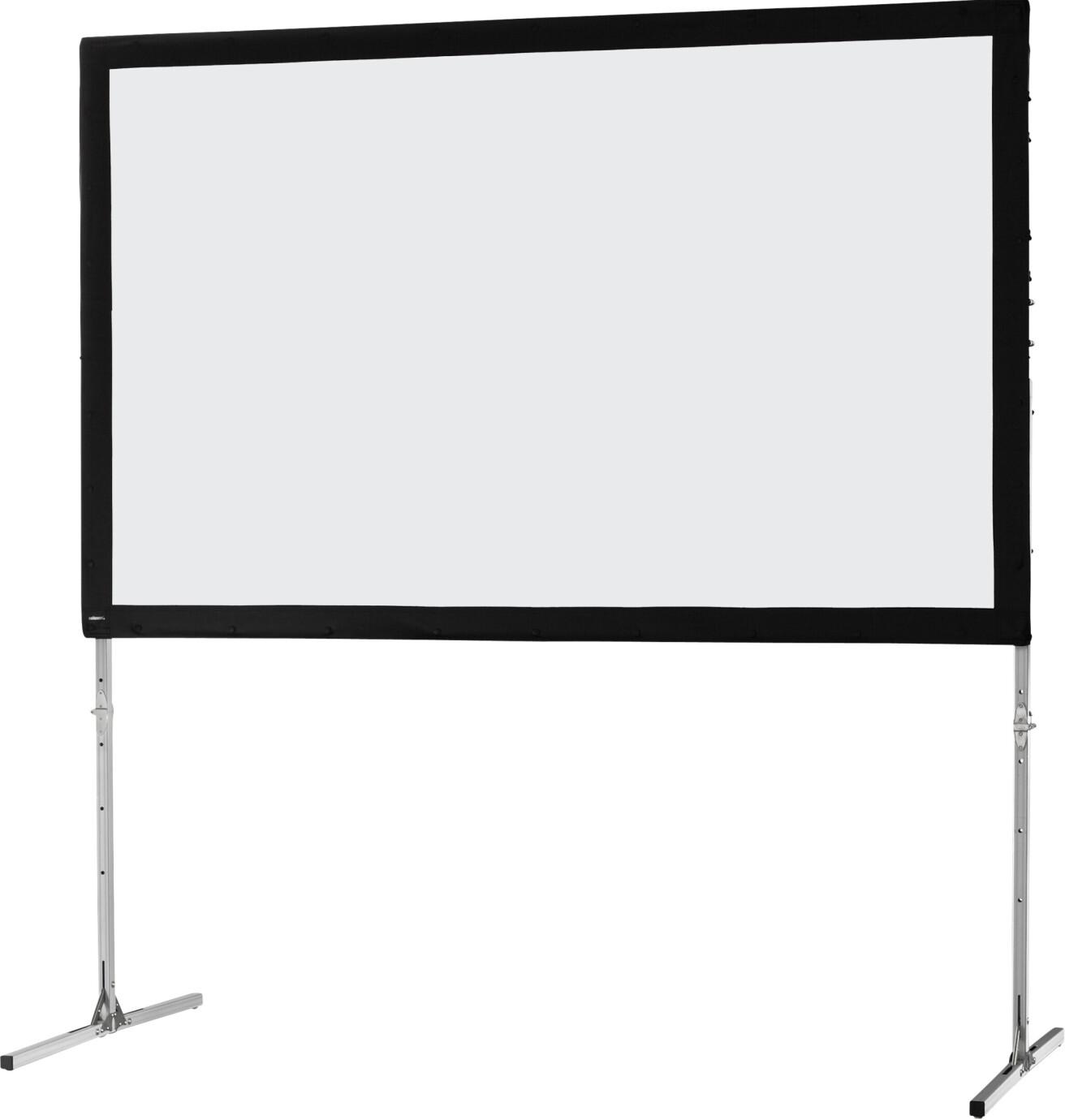 celexon Folding Frame screen 305 x 190cm Mobile Expert, front projection