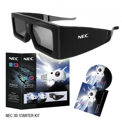 NEC NP01SK3D 3D Starter Kit including 3D glasses