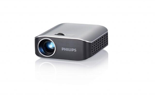 PHILIPS PicoPix 2055 - Demoware Silber
