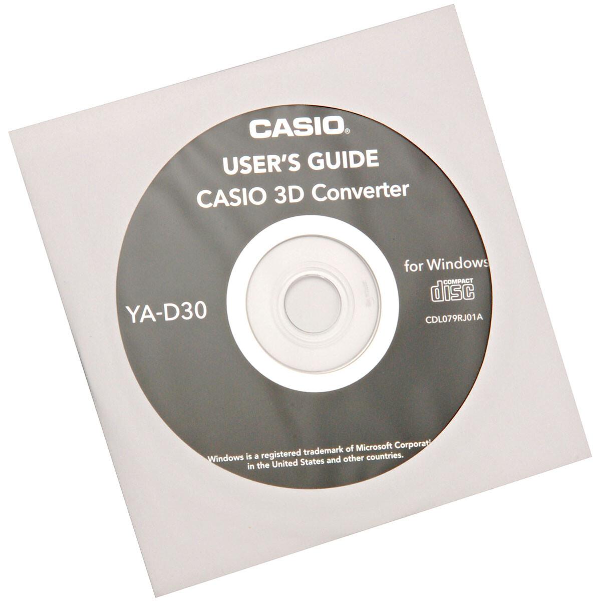 Casio 3D Software (Player +2D in 3D Konverter) YA-D30