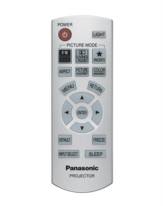 Panasonic Ersatzfernbedienung für PT-AX200