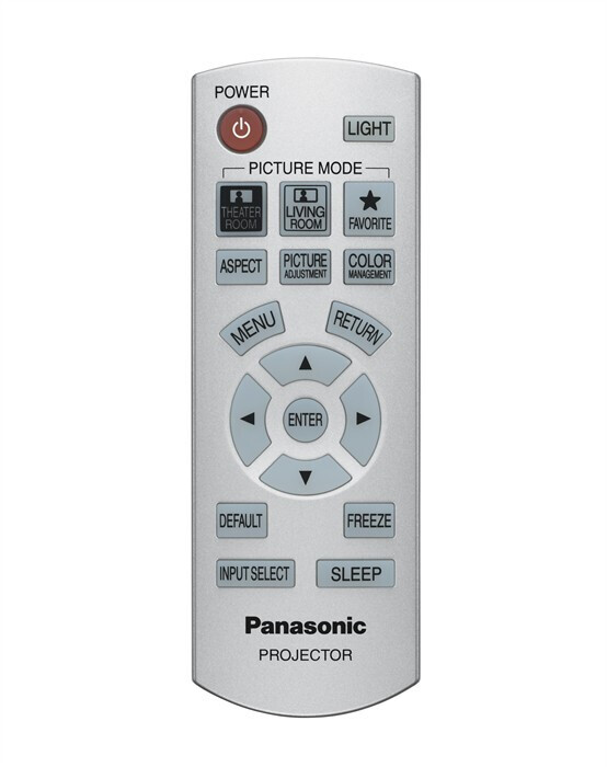 Panasonic PT-AX200 replacement remote control