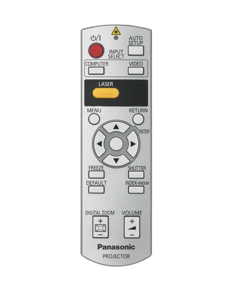 Panasonic replacement remote control for PT-LB75E