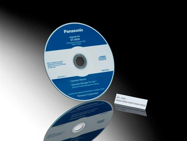 Panasonic Upgrade-Kit incl. Geometry Manager Pro Software para PT-DS20K/DZ21K