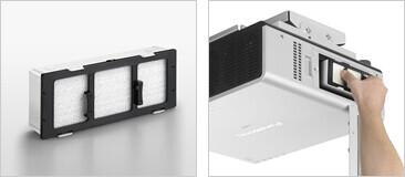 Panasonic ET-RFE200 Ersatzfiltereinheit für PT-EX500, PT-EX600, PT-EW530, PT-EW630, PT-EZ570