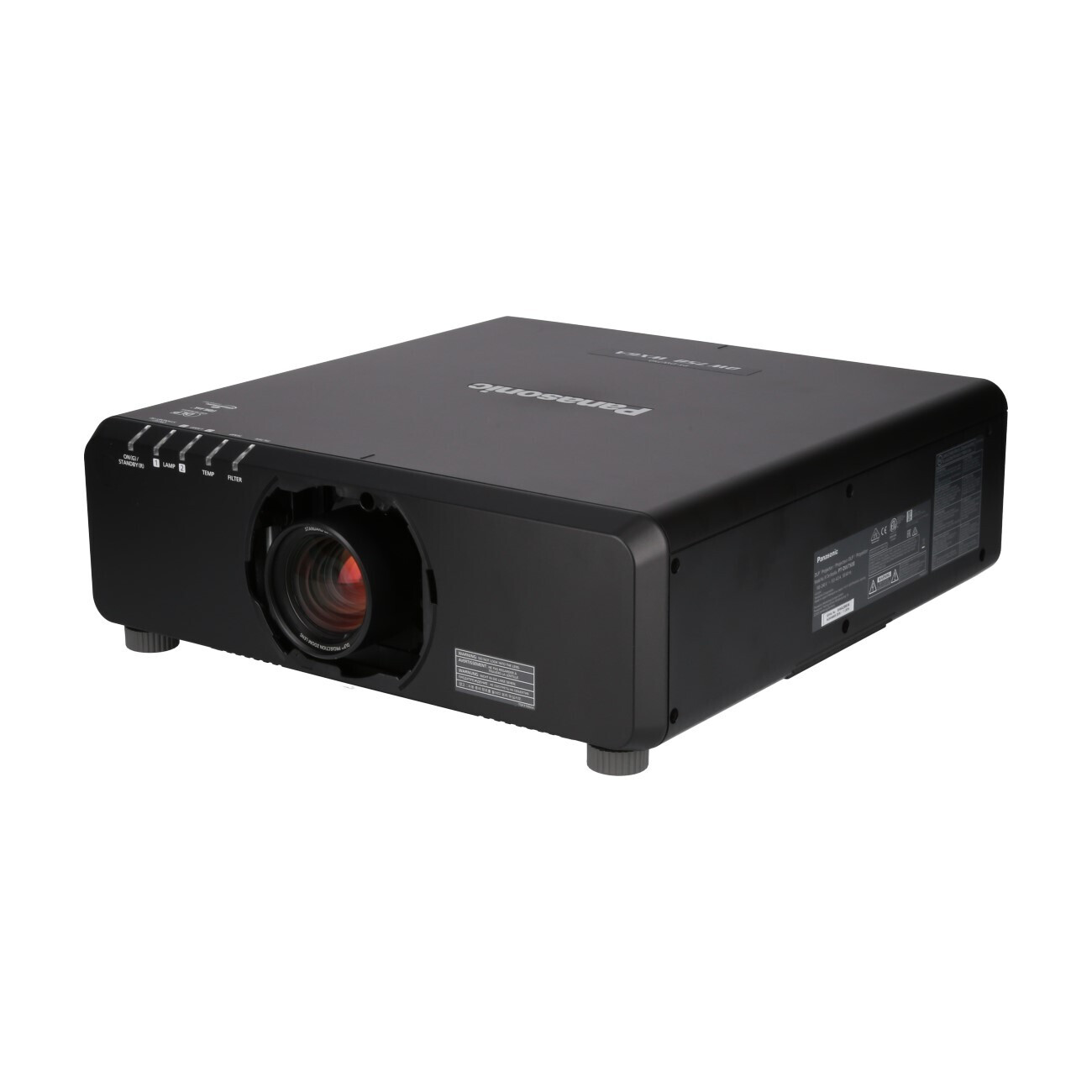 Panasonic PT-DW750LBE (without Lens)