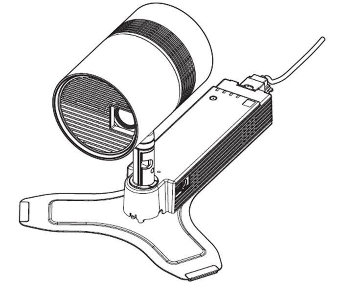 Panasonic Standmontage-Kit für PT-JW130FWE, weiss