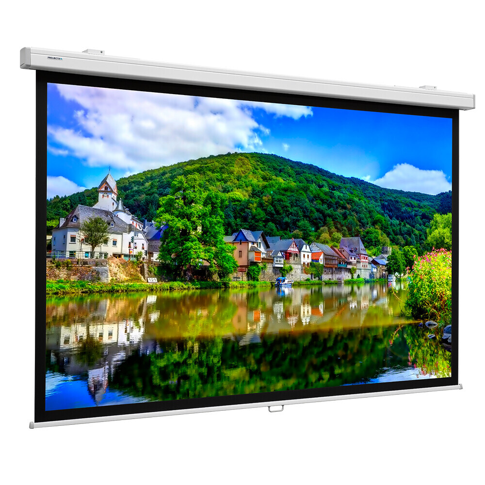 Projecta Rollo Leinwand Projecta ProScreen CSR, 220 x 141 cm, 16:10, Mattweiß