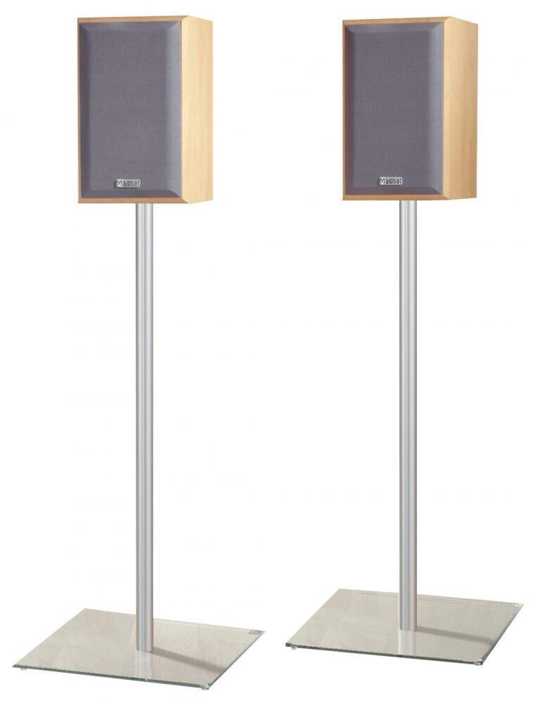 VCM 2x Surroundstands Sulivo Mini Klarglas 71 cm