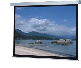 WS-P-ProScreen-Rollo, 16:9 280x162 mattweiß 1,0 Gain