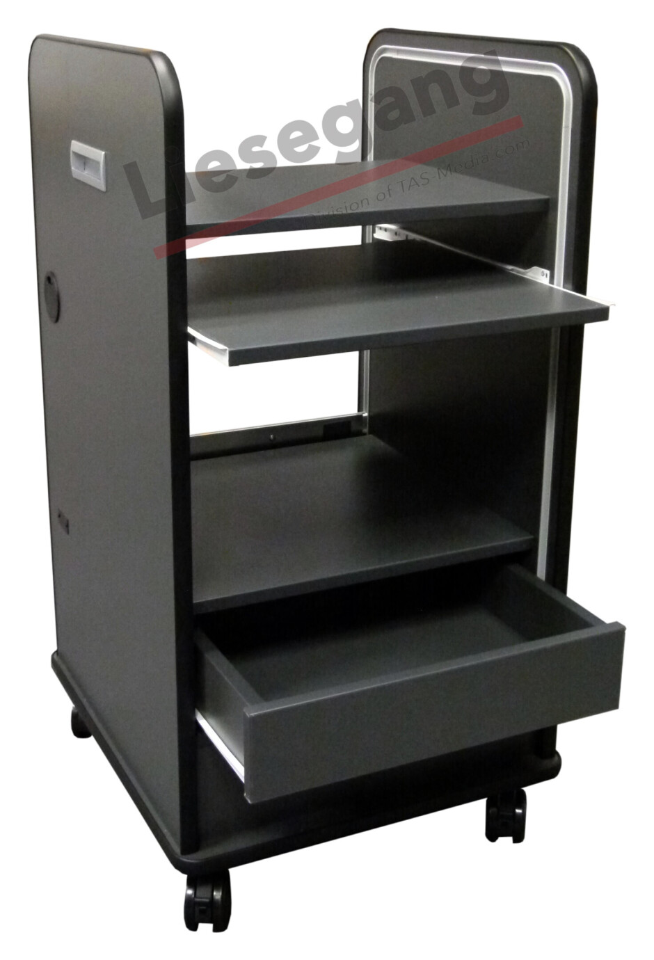 Liesegang Mediencontainer MC53 grau