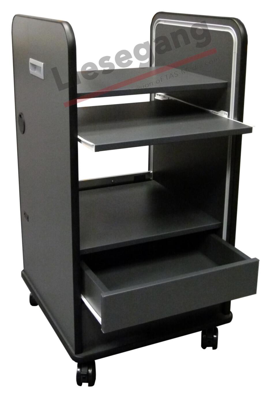 Liesegang Transporte multimedia MC53 gris