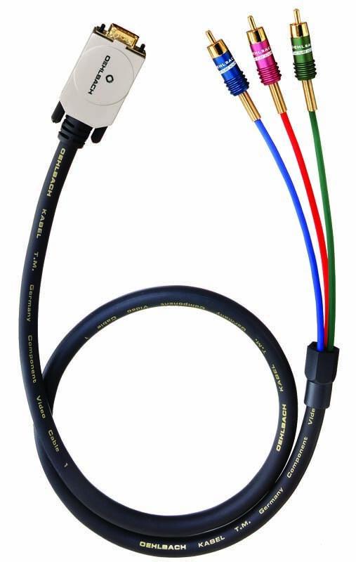 Oehlbach Componenten Video - VGA Kabel 10 Meter