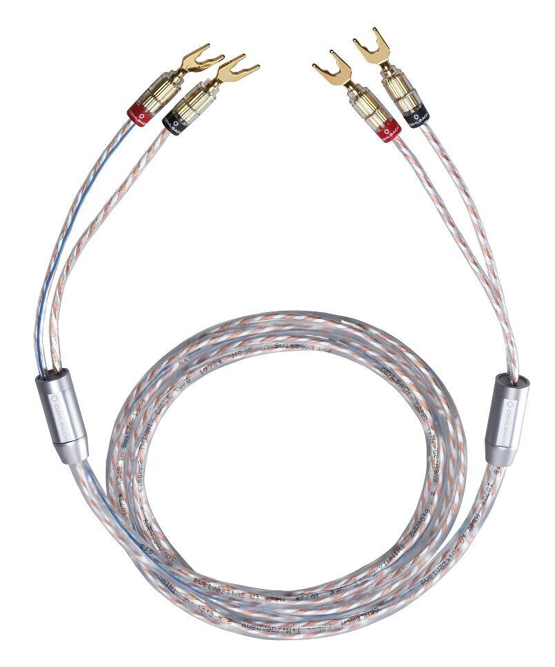 Oehlbach Twin Mix Two mit Kabelschuh - 2 x 5,0 m