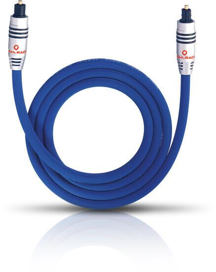 Oehlbach XXL Series 80 Optokabel 1m blau