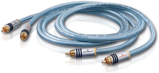 Oehlbach NF-Audio-Cinchkabel XXL-2, 2x1m