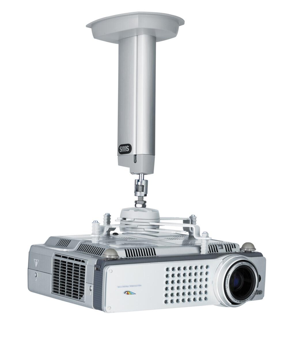 SMS - supporto a soffitto CL F250 , argento , con Unislide