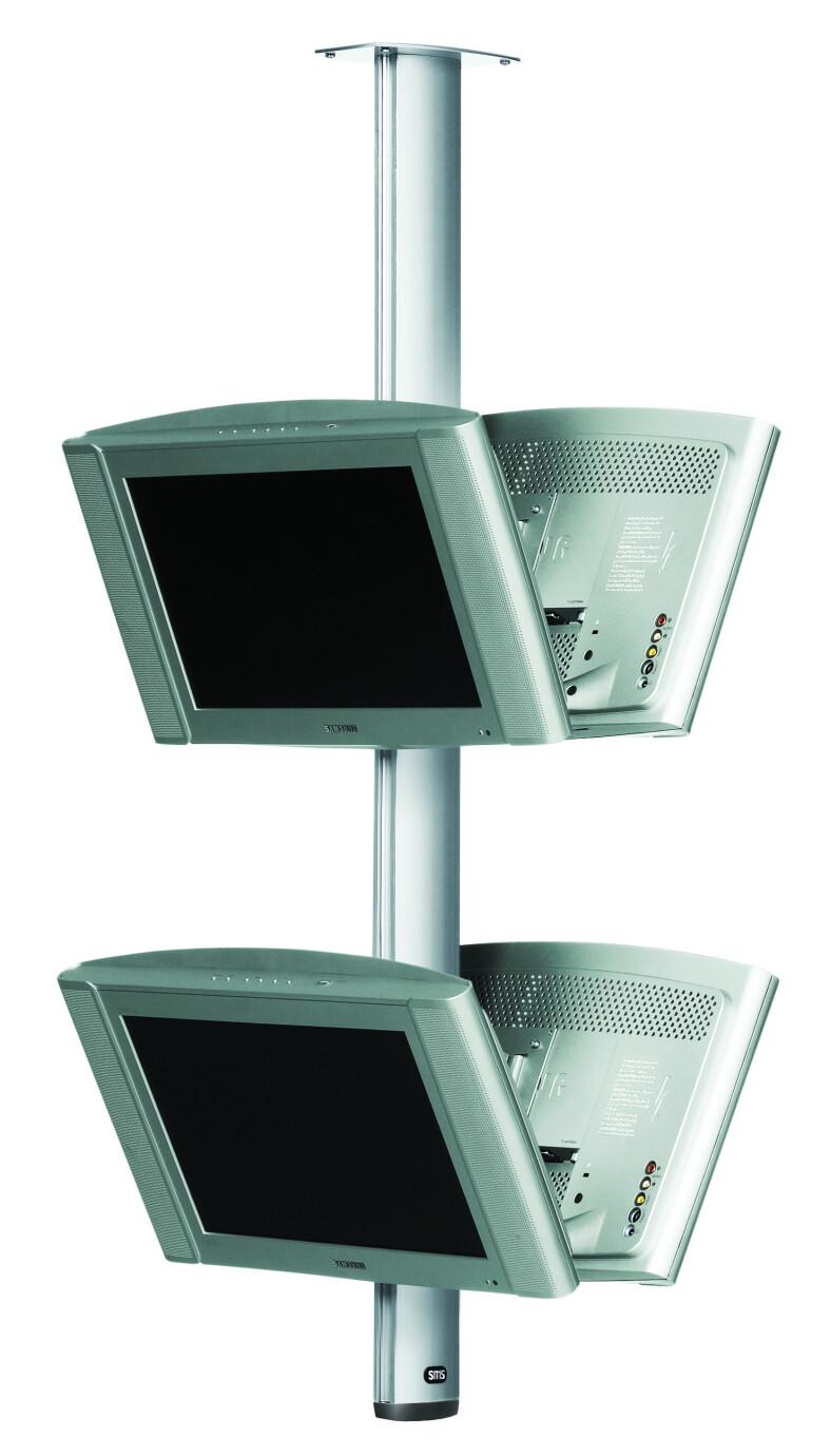 SMS CL ST800 plattskärm takfäste (Svart)