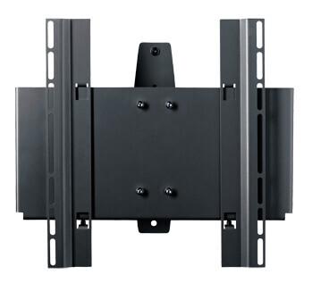SMS Func WM ST plattskärm väggfäste (svart)