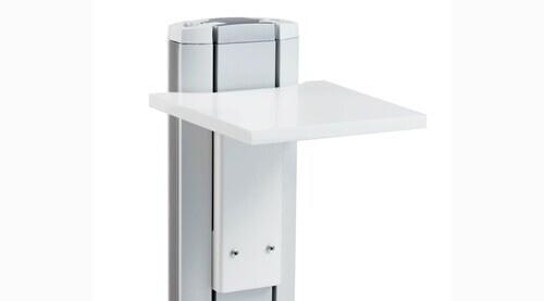 SMS Flatscreen X Conference Camera Shelf, white