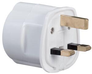 Paulmann Adapter für UK-Steckdose 230V Weiss